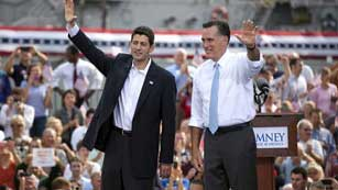 Mitt Romney ya tiene quien le acompañe en la carrera a la Casa Blanca