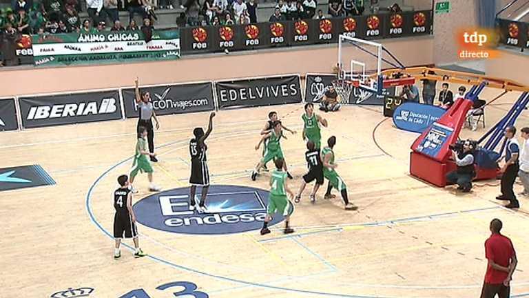 Baloncesto - Campeonato de España Mini. Final masculina