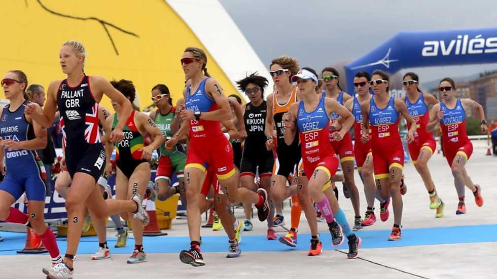 Triatlón - Campeonato del Mundo de Duatlón. Prueba Avilés