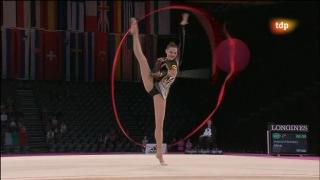 Campeonato del Mundo de Gimnasia Rítmica. Final individual aparatos: Mazas y Cinta