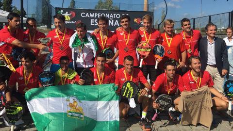 Campeonato de España de Pádel de Selecciones Autonómicas. Octubre 2017