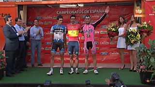 Ciclismo - Campeonato de España en ruta  - 24/06/12
