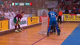 Hockey Patines - Campeonato de Europa. Final: Italia-Portugal