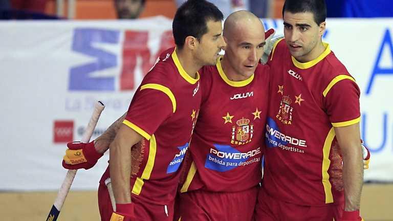 Hockey sobre patines - Campeonato de Europa: Portugal - España