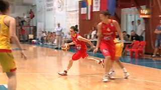 Baloncesto femenino - Campeonato de Europa: Rumanía-España