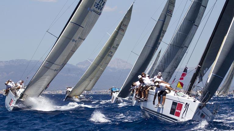 Campeones Olímpicos españoles en la Copa del Rey de Vela