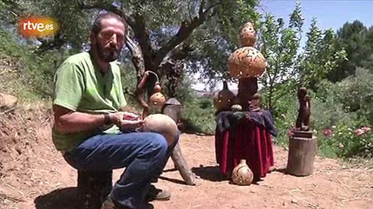 Conectando España - Candeleda - Artesanía con calabazas