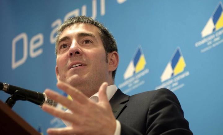 El candidato de Coalición Canaria, Fernando Clavijo