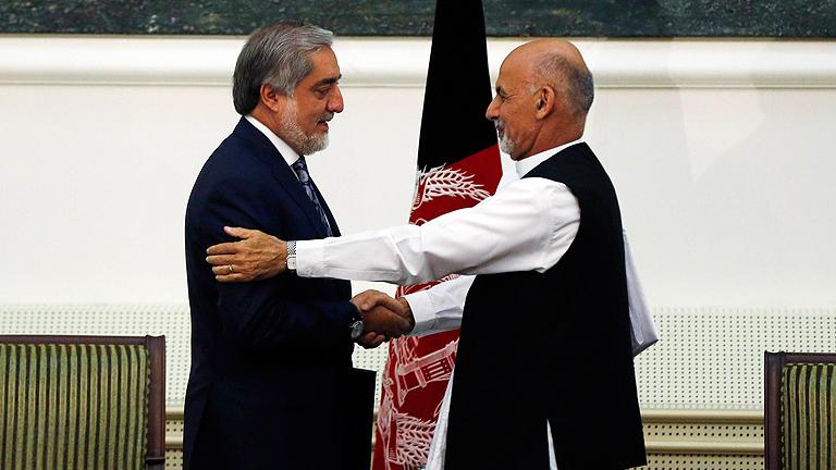 Los candidatos afganos acueran un Gobierno de unidad nacional