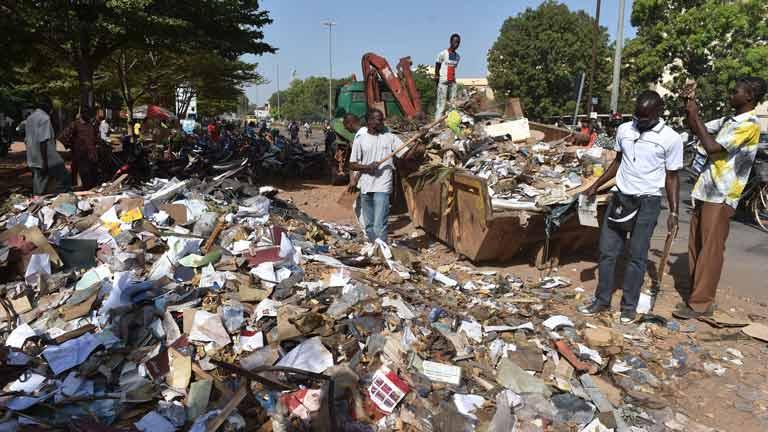 El caos político que vive Burkina Faso preocupa a los países vecinos