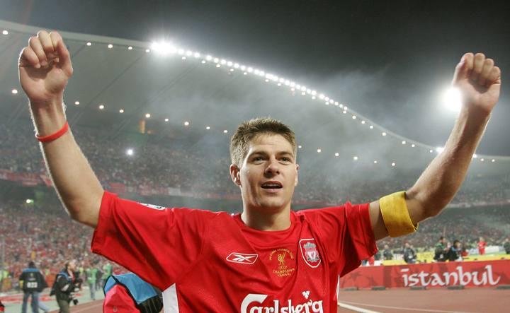 El capitán del Liverpool, Steven Gerrard.