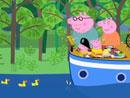 Imagen del  vídeo de Peppa Pig titulado EL CAPITÁN PAPÁ PIG