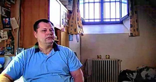 Captura de imagen del preso Frank Van Den Bleeken en una entrevista en una televisión belga.