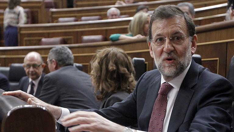 """Rajoy a Rubalcaba: """"Ve bien la"""