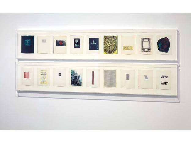 Carl Andre 1958-2010, Vista de la exposición en el EdificioSabatini