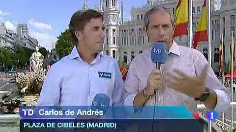 """Carlos de Andrés: """"Lo mejor de la Vuelta, la afición"""""""