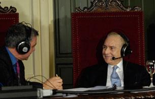 Carlos Dívar habla del estado de la Justicia en RNE