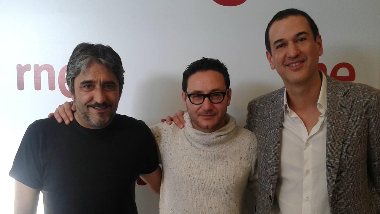 Carlos Santos, Roberto Santiago y Pedro Segura