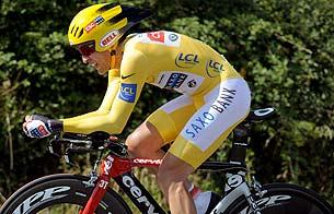 Carlos Sastre es el virtual vencedor del Tour