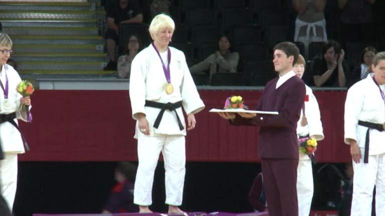 Carmen Herrera, la judoca tricampeona paralímpica