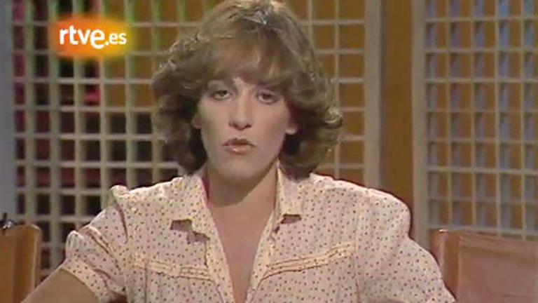 Carmen Maura en un 'Esta noche' (1981)