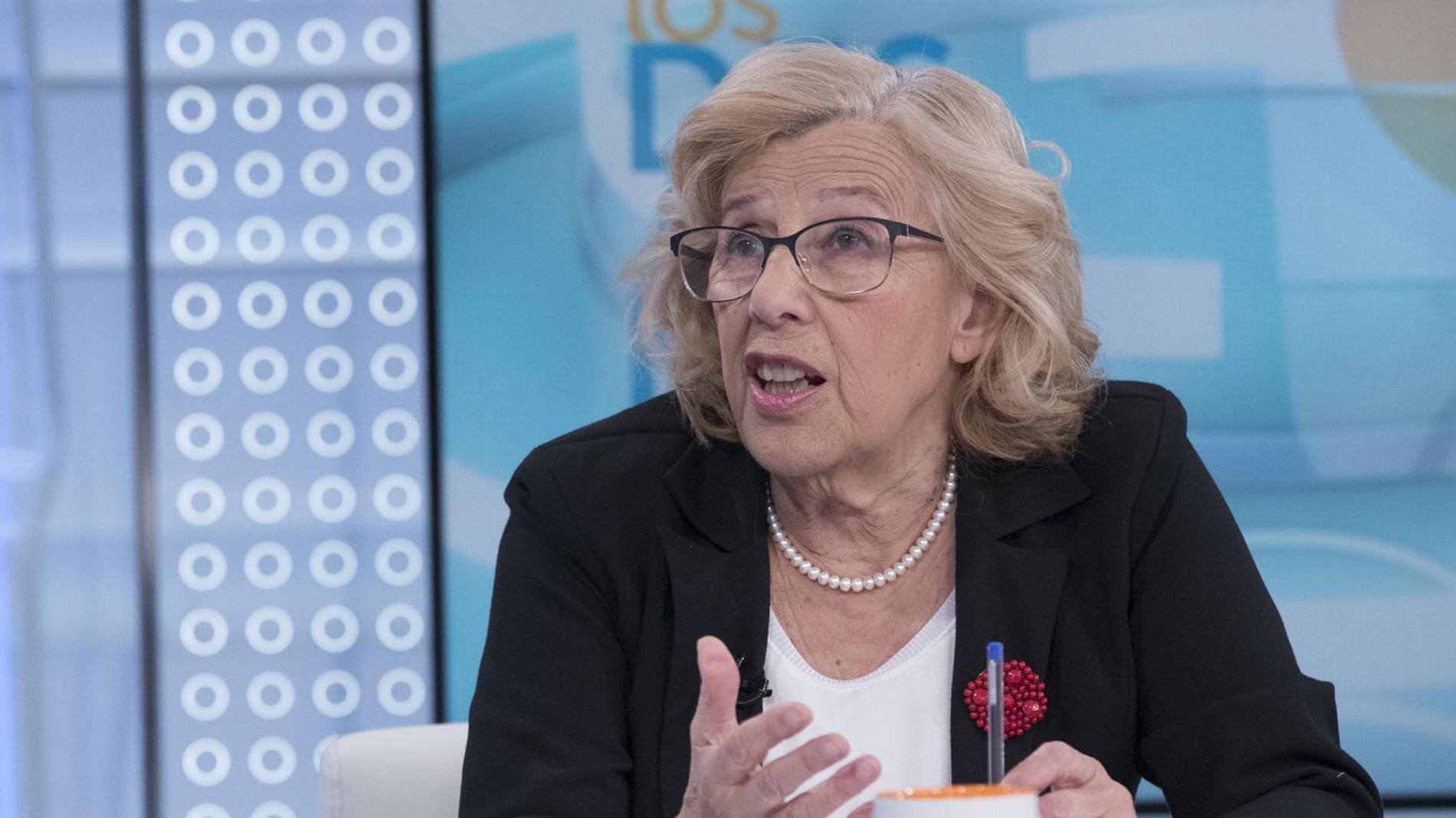 """Ir al VideoCarmena no desvela si repetirá como candidata a la Alcaldía de Madrid pero reconoce que se siente """"bien y con fuerzas"""""""