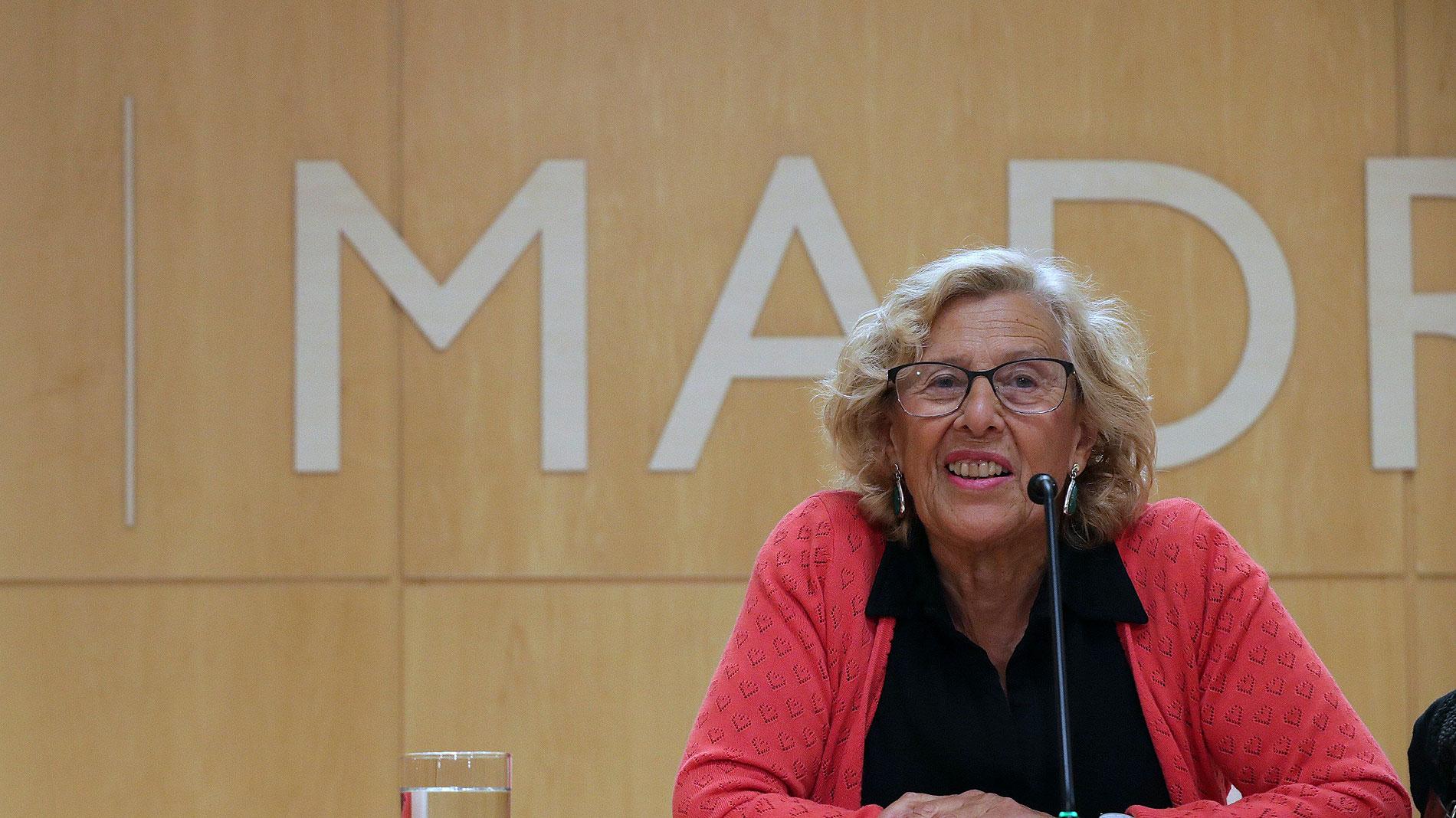 Ir al VideoCarmena se presentará a la reelección en Madrid