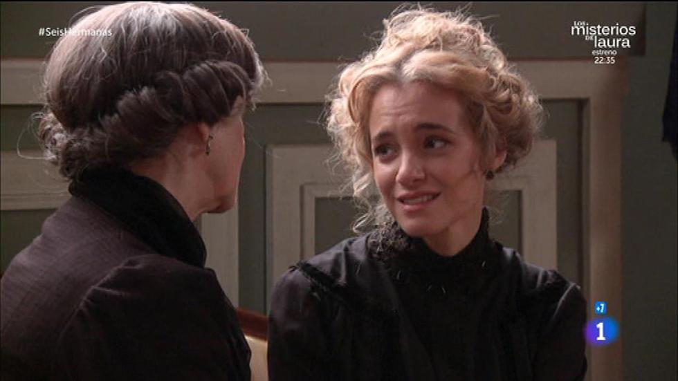 Seis Hermanas - Carolina le confiesa a su madre ser adicta al opio