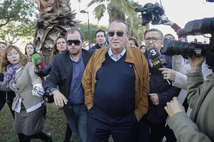 CAROS FABRA ACUDE A LA AUDIENCIA DE CASTELON