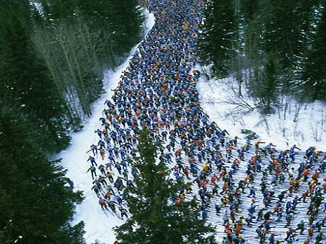 La carrera de esquí más larga del mundo