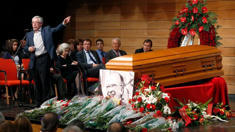 Homenaje póstumo a Santiago Carrillo