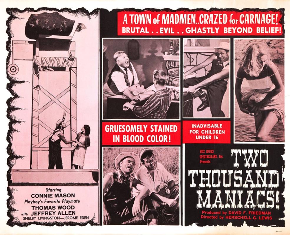 Cartel de '2000 maníacos'