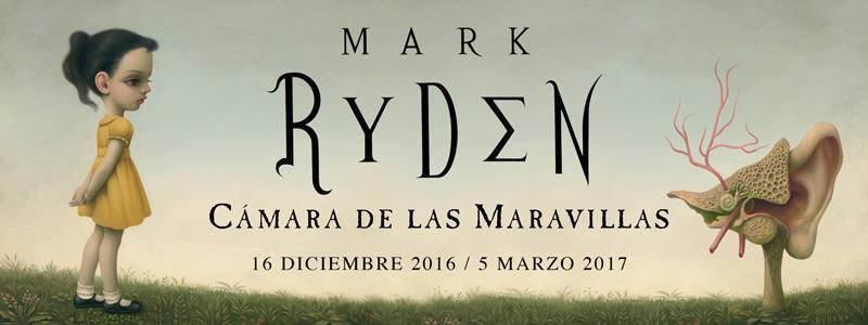 Cartel de la exposición de Mark Rydel en el Centro de Arte Contemporáneo de Málaga (CAC)