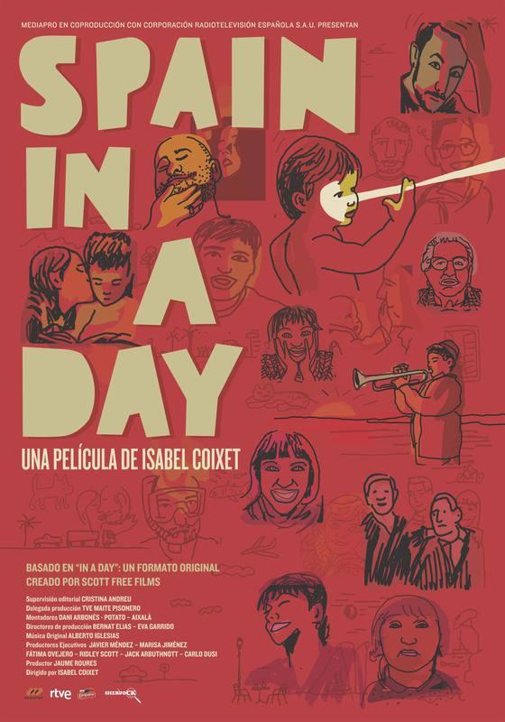 Cartel oficial de 'Spain in a day'