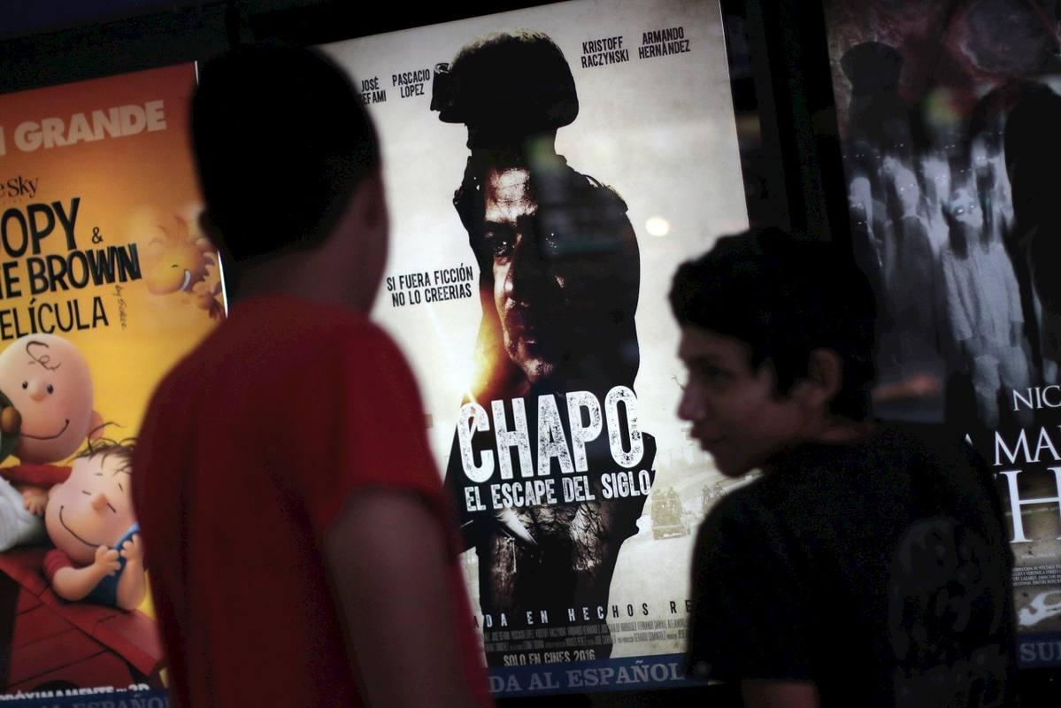 Cartel de la película de El Chapo Guzmán