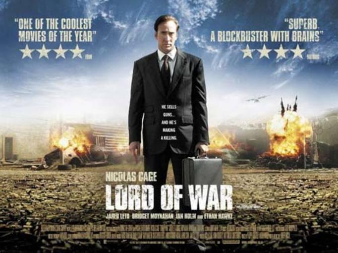 """Cartel de la película """"El señor de la guerra"""""""