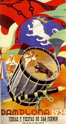 Cartel Sanfermines de 1934