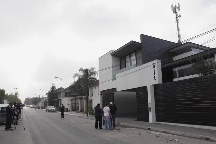 Casa en la que han detenido al líder de Los Zetas