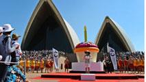 Ir al VideoLa 'Casa de la Ópera de Sidney celebra su cuarenta aniversario