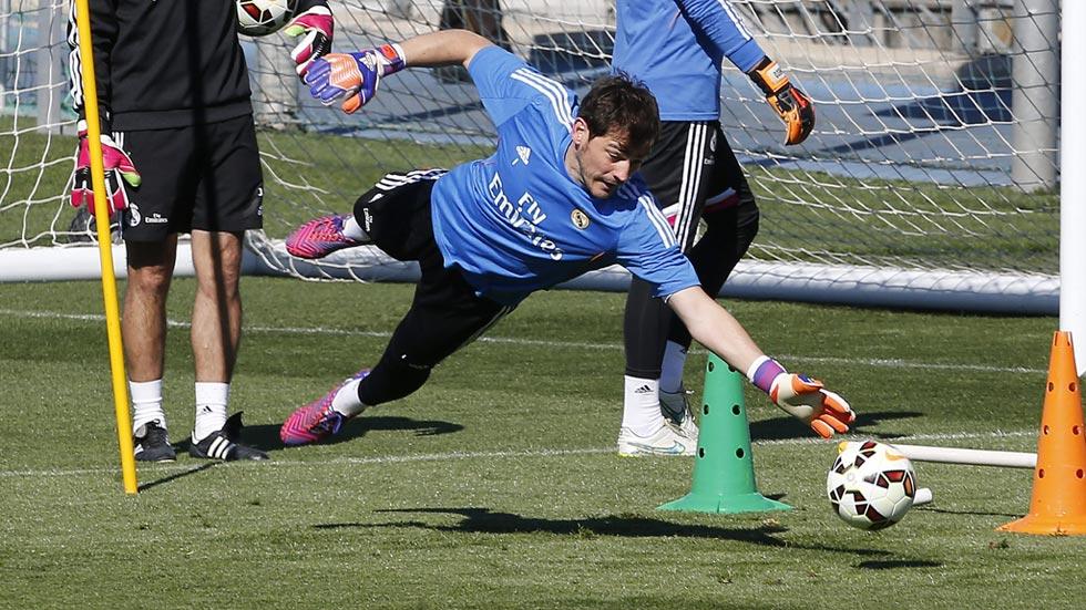 Casillas será el portero titular del 'clásico'