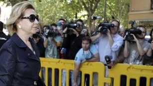 María Antonia Munar se sienta en el banquillo de los acusados