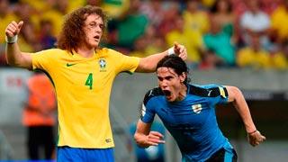 Cavani y Luis Suárez rescatan un punto ante Brasil