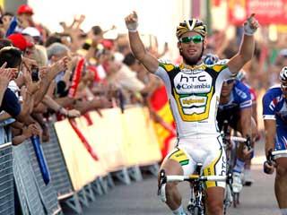 Cavendish ya gana en la Vuelta