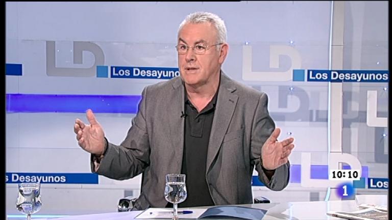 Los desayunos de TVE - Cayo Lara, coordinador federal de Izquierda Unida
