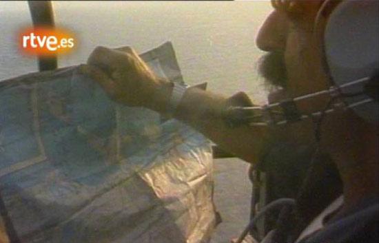 'A la caza del tesoro', en Cartagena de Indias (1984)