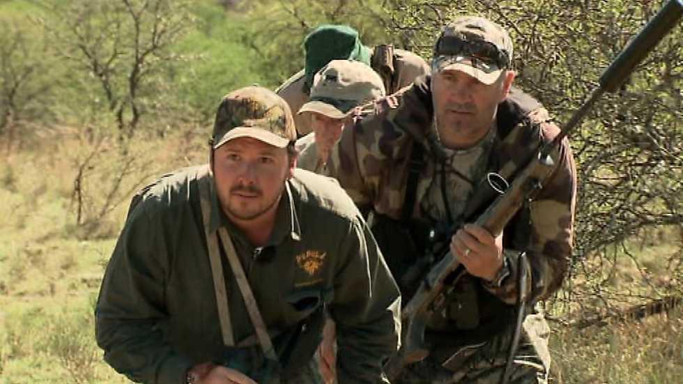 Jara y sedal - Caza internacional: Sudáfrica