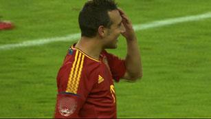 Cazorla marca el tercero de España (3-1)