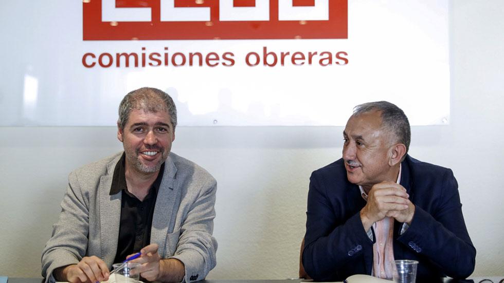 CCOO y UGT exigen a la patronal un acuerdo salarial inmediato