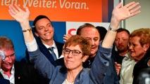 Alemania - La CDU de Merkel gana las regionales del Sarre