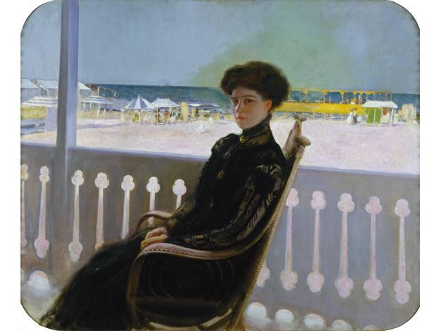 "Cecilio Pla, ""La esposa del pintor, Valentina Navarro"", (1914-1930)"